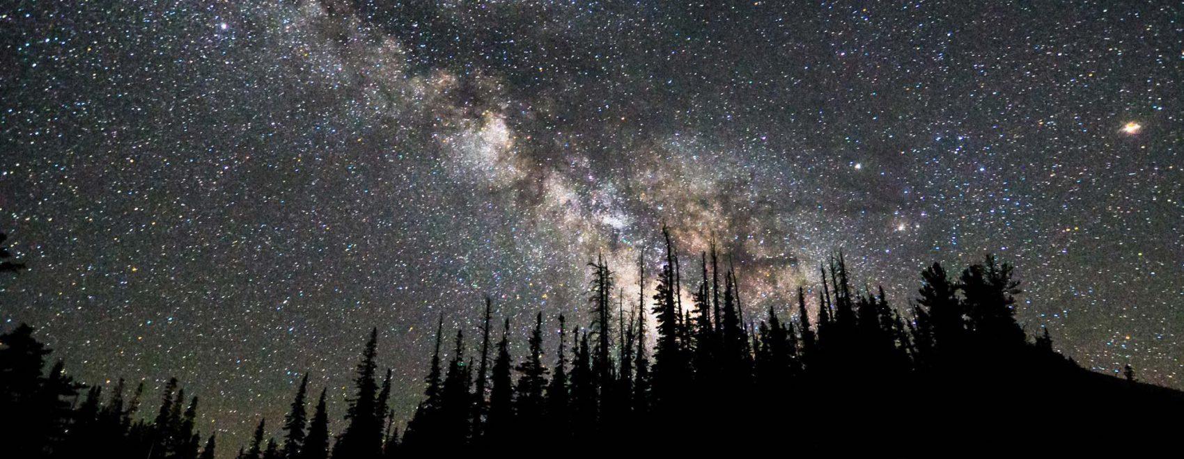 Milky Way over Cedar Breaks | NPS Photo by Zach Schierl