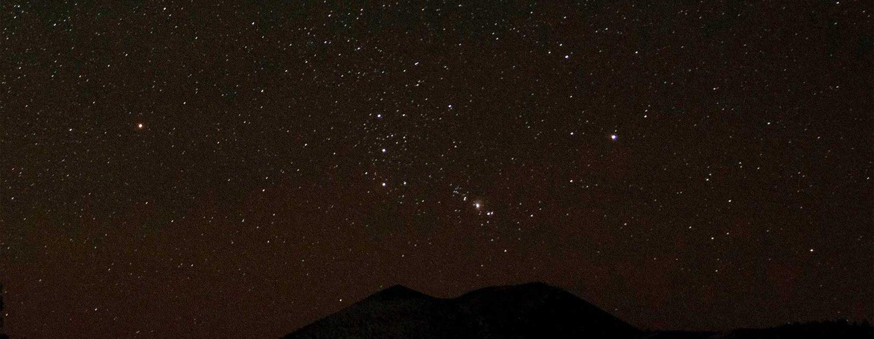 Sunset Crater Volcano Night Sky | NPS Photo by K. Ackerman